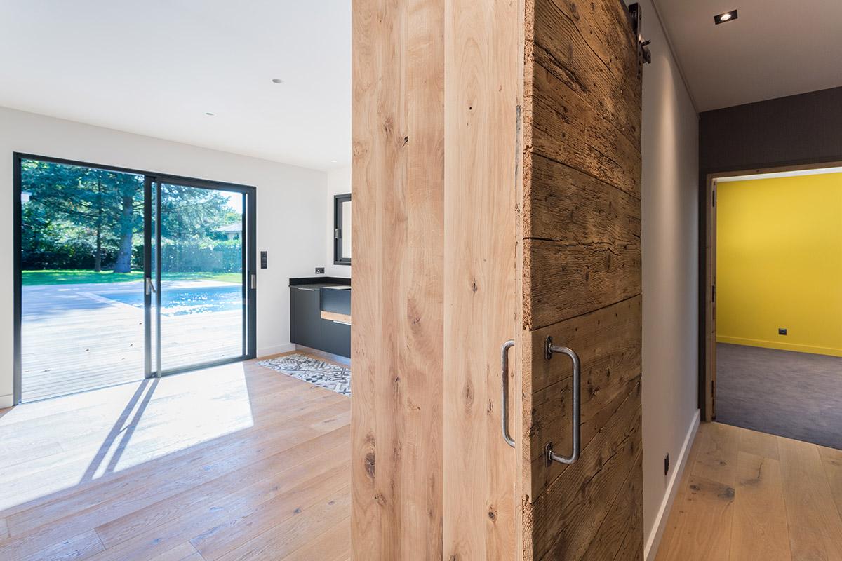 Interieur lumineux maison contemporaine - La Construction ...