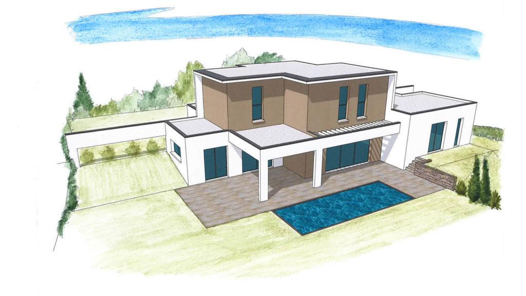 plan maison projet 0117