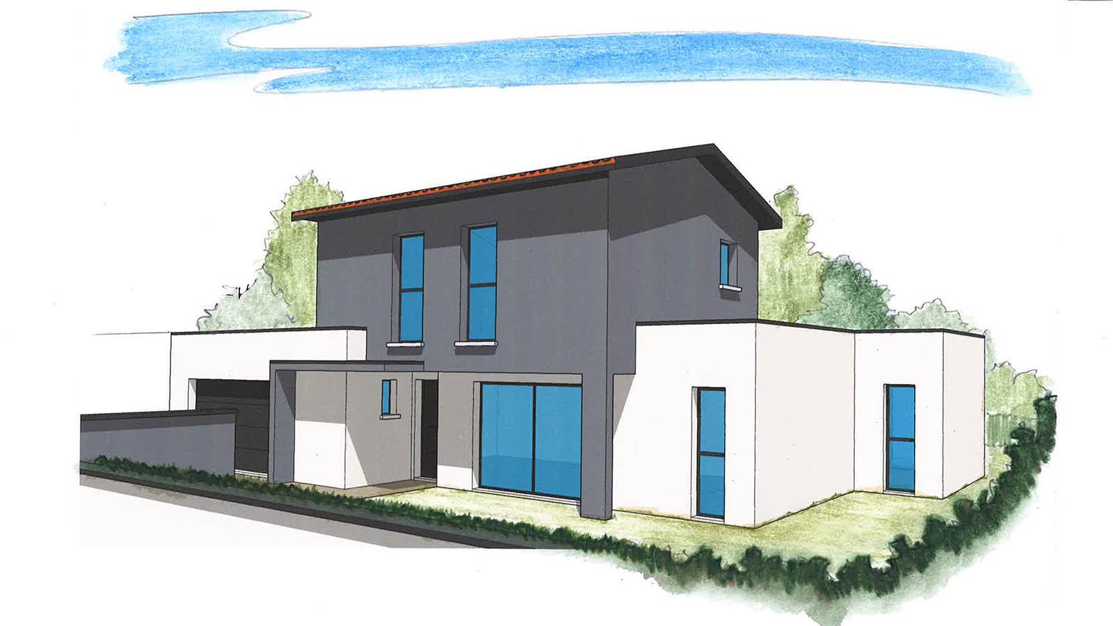 Construction maison neuve lyon maison moderne for Assurance construction maison neuve