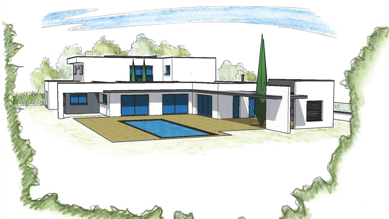 plan maison projet 0517