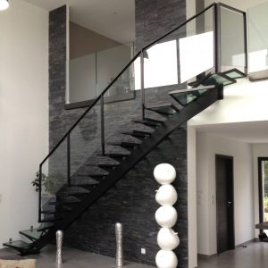 Escalier ultra contemporain